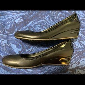 Cole Haan x Nike Air Slip Ons Size 6 - Black